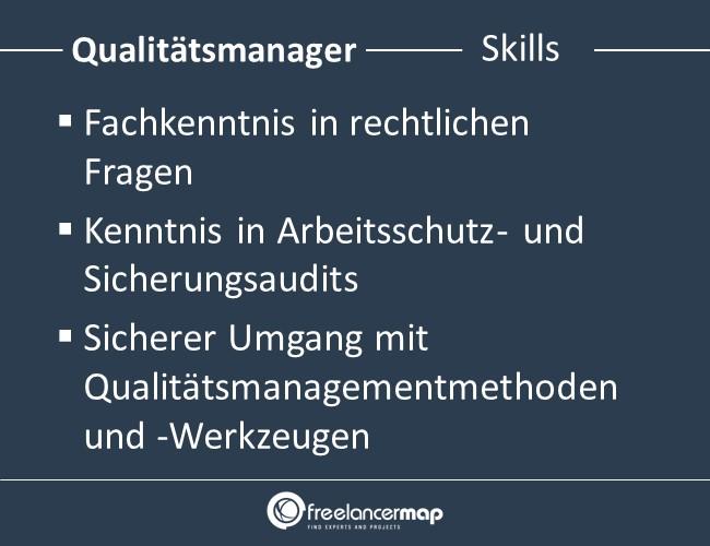 Qualitätsmanager-Skills