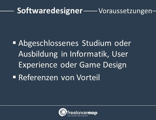 Softwaredesigner-Voraussetzungen-Einstieg