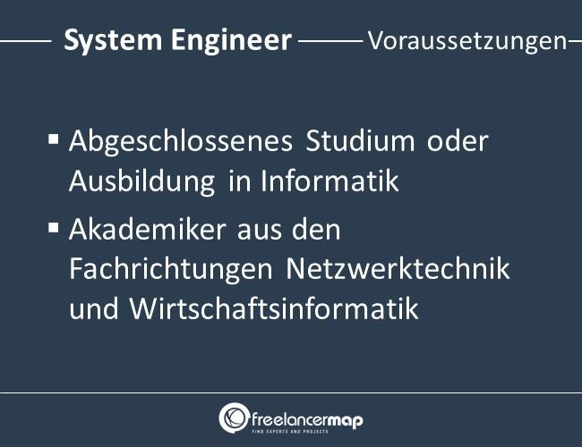 System-Engineer-Voraussetzungen-Einstieg