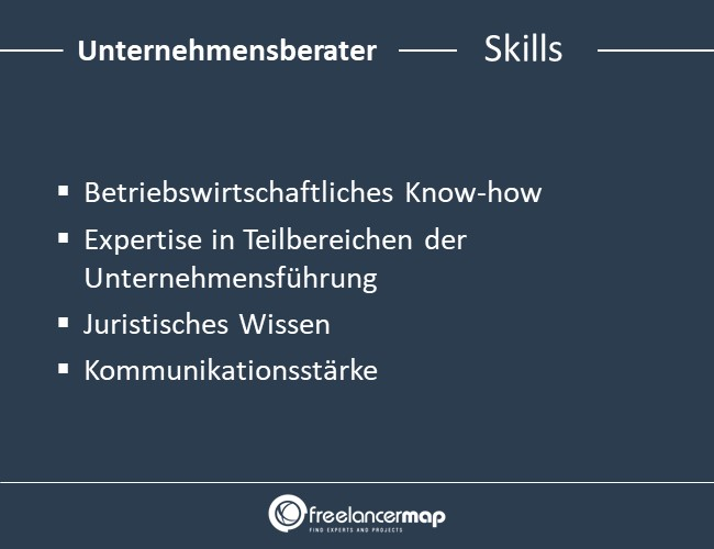 Unternehmensberater-Skills