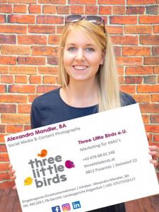 Profilbild von Alexandra Mandler Marketing Manager, Social Media Manager, Content Creator, Grafik Designer aus Pusarnitz