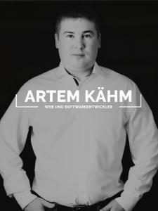 Profilbild von Artem Kaehm Web- und Softwareentwickler aus BadSaarow