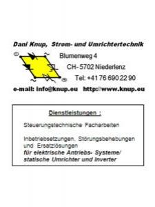 Profilbild von Daniel Knup Techniker TS aus Niederlenz