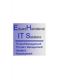 Profilbild von Eduard Halmdienst IT Berater (Schwerpunkte BI, GMP Meldewesen) aus Wien